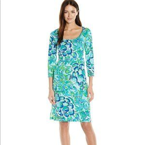 Lilly Pulitzer Kenzie Dress Agate Green Size Large